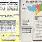 Orario tascabile Alto Adige 1992, legenda